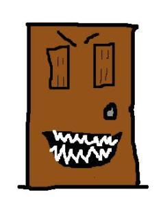 door scary